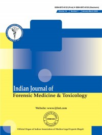 Image of Indian Journal of Forensic Medicine & Toxicology 2020, Volume-14, Issue-1 (Jan-Mar)